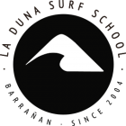 La duna surf club - logo negro trans